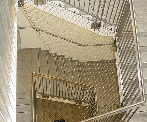 Treppensicherung Treppenauge Horizontale Sicherung