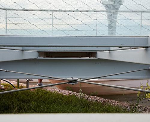 Dachverspannungen Edelstahl-Seilsysteme