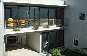 balcony X-TEND stainless steel wire rope system