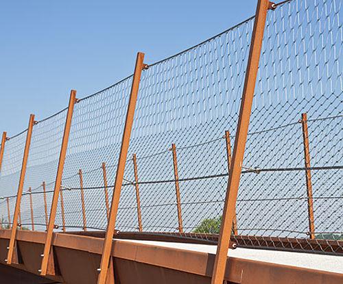 Brückensicherung X-TEND Edelstahlseilnetz