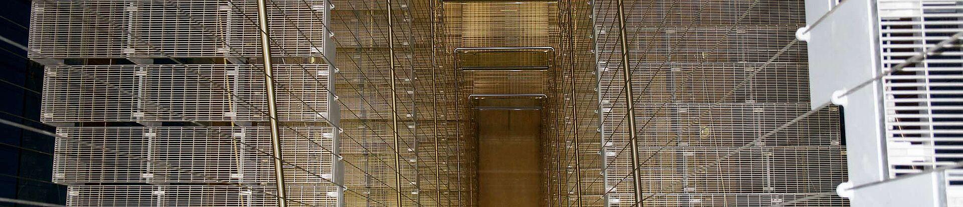 Seilharfen Treppen I-SYS Edelstahl-Seilsystem