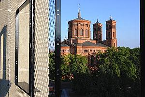 Berlin Passivhaus Engeldamm Carl Stahl Architektur Edelstahlseilnetz Fassade