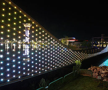 X-LED Mesh LED Netz Lichtgestaltung