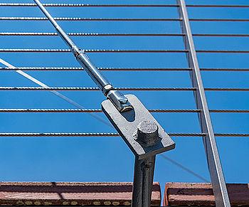 Brücken Abhängung Seile Hängebrücken I-SYS Edelstahl-Seilsystem