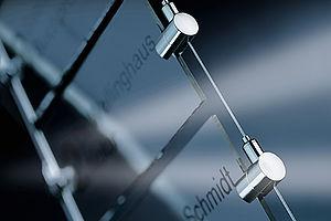 Innenraumgestaltung POSILOCK Abhängung Edelstahl-Seil