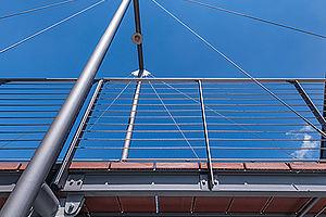 Brücken Abhängungen I-SYS Edelstahlseil