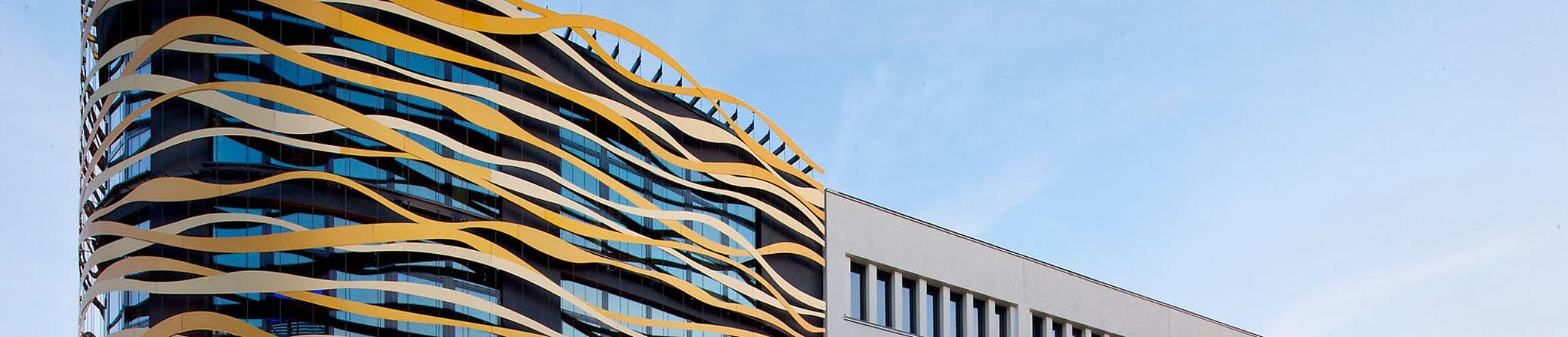Königsgalerie Duisburg Fassade Edelstahl-Seilsysteme