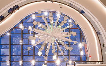 light sculptures LED light design
