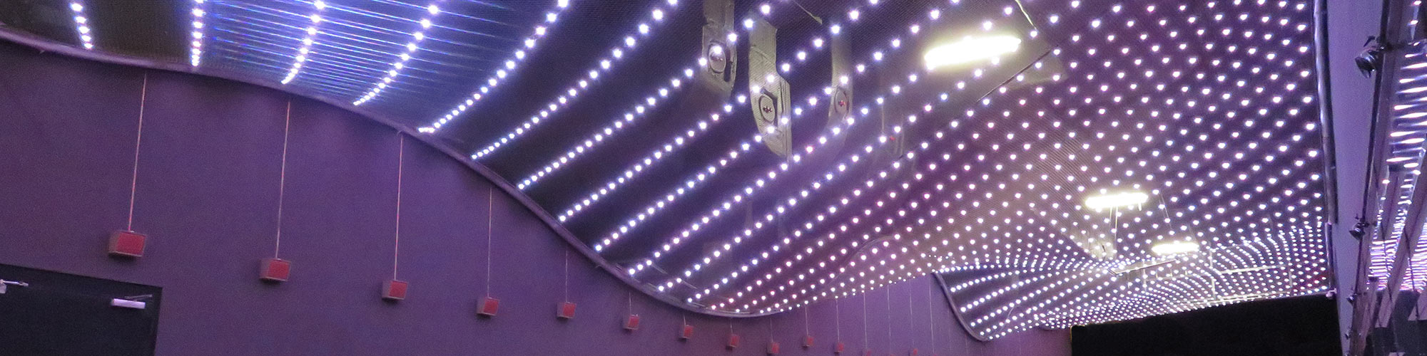 LED Lichtdecken X-LED LED Lichtmodulsystem Netz