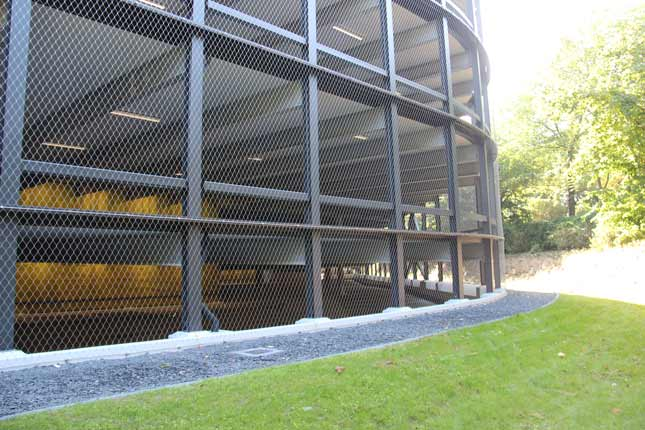 Façade protections X-TEND stainless steel cable mesh