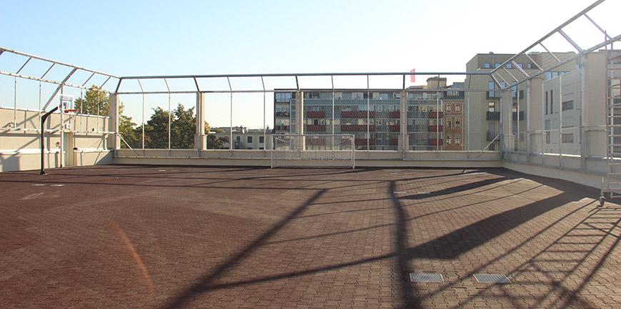 Ballfangnetz X-TEND Edelstahl-Seilnetz