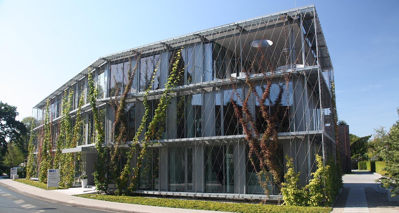 Westerstede Fassade I-SYS Edelstahl-Seilsystem