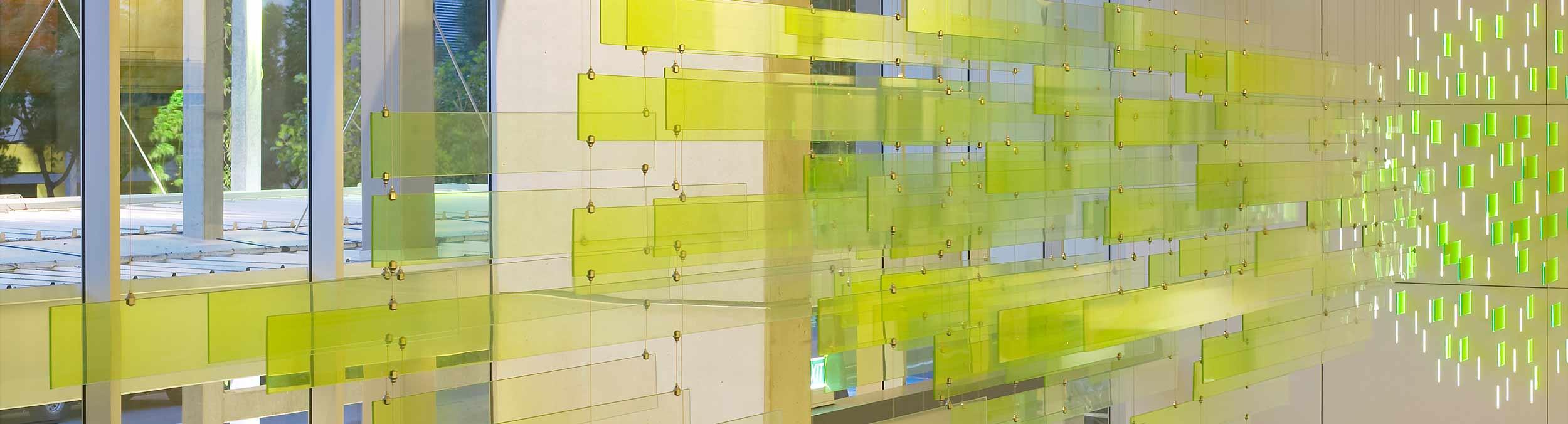 [Translate to English:] POSILOCK Seil-Abhängesystem Carl Stahl Architektur